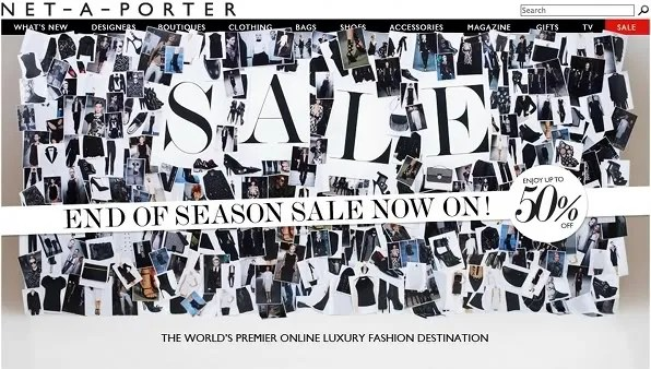 Netaporter Sale Fall Winter 2011