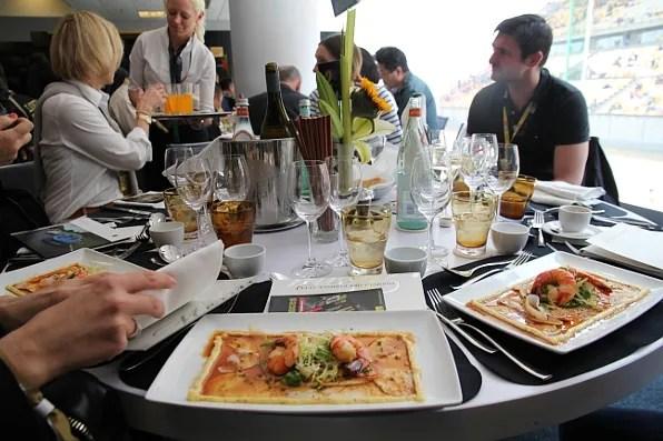 Lunch at Paddock Club Formula 1 Shanghai
