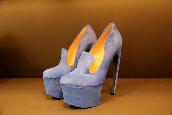 Thierry Mugler shoes  – platform pumps