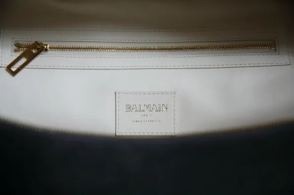 Balmain Pierre bag interior pocket