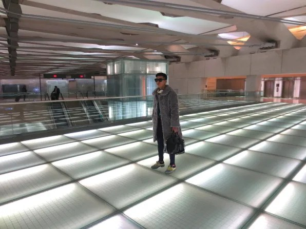 Bryanboy at Washington Dulles International Airport
