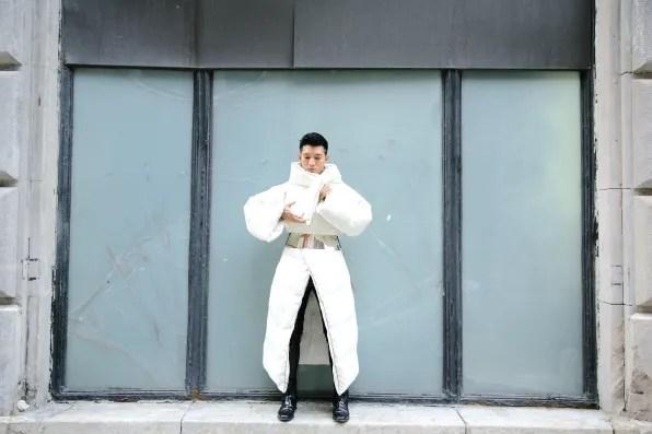 Maison Martin Margiela x H&M comforter coat