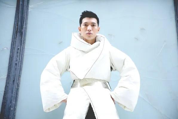 Maison Martin Margiela x H&M collaboraton duvet coat