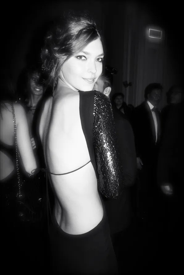 Arizona Muse at the Carine Roitfeld black-tie 'Le Bal' for MAC Cosmetics