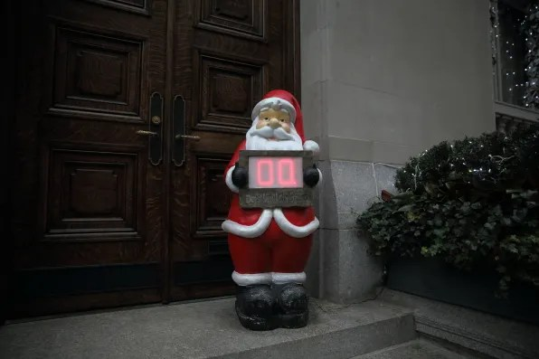 Santa Claus Christmas Countdown