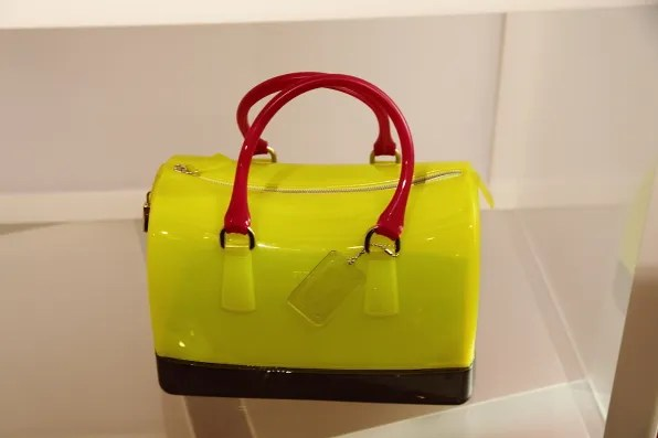 Furla Candy Bag in neon yellow