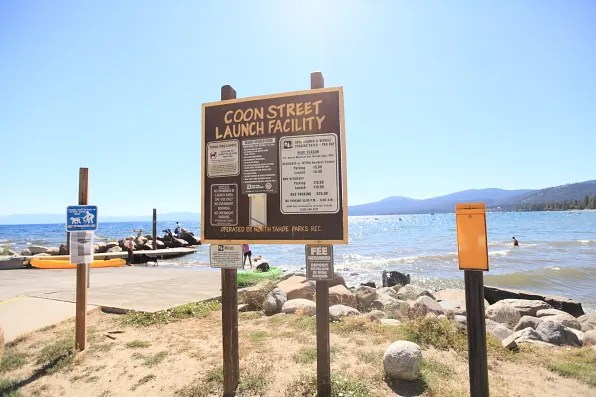 Coon Street Launch Facility, Lake Tahoe