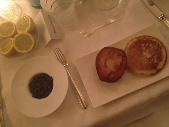 Caviar at La Maison Du Caviar Paris