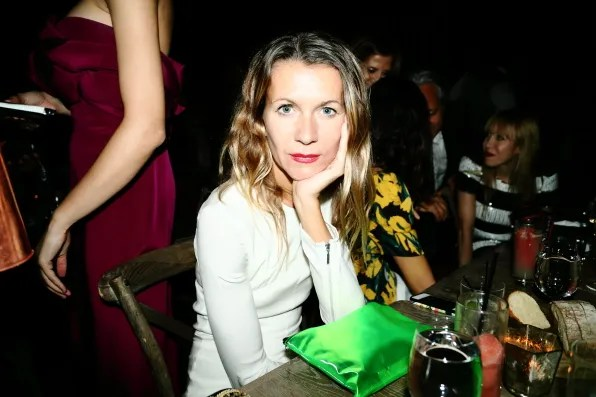 Natalie Joos at the Marchesa spring summer 2013 dinner