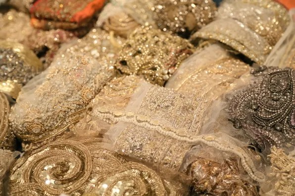swarovski crystal beadwork for Marchesa