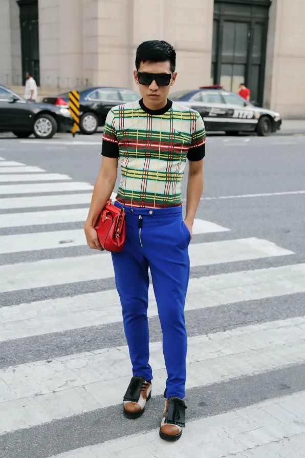 Bryanboy wearing Marni pre-fall 2012 and Jason Wu bag