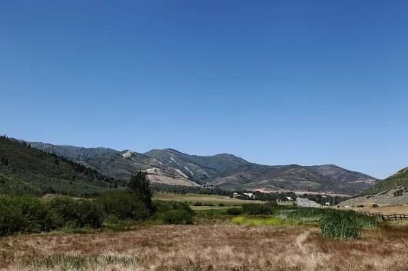 Scenic hills in Utah