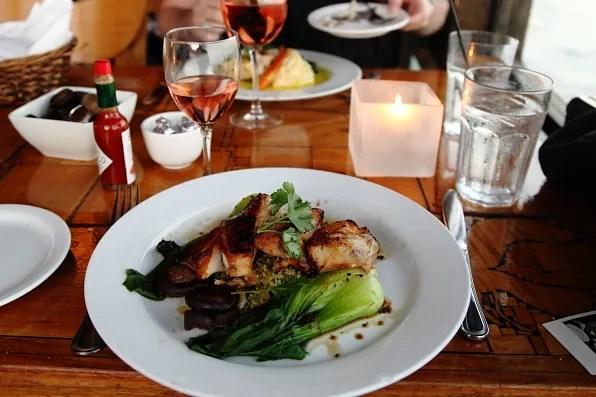Moonshadows restaurant, Malibu black cod