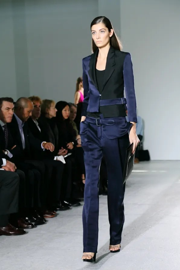 A look from Costume National spring summer 2013