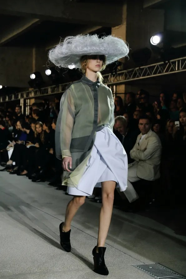 A look from John Galliano spring summer 2013 fashion show