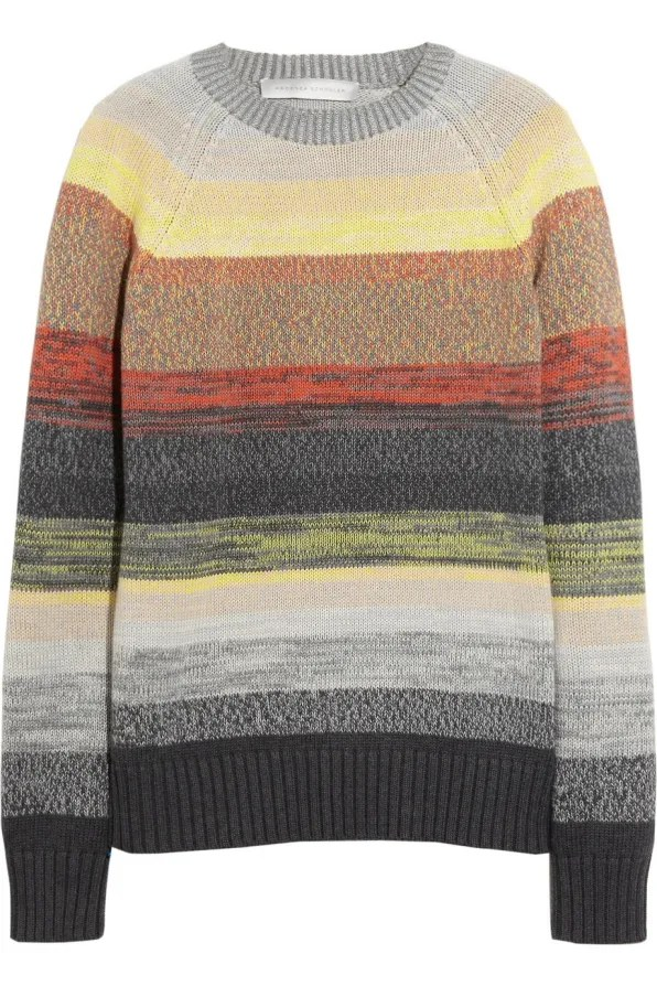 Proenza Schouler striped degrade sweater