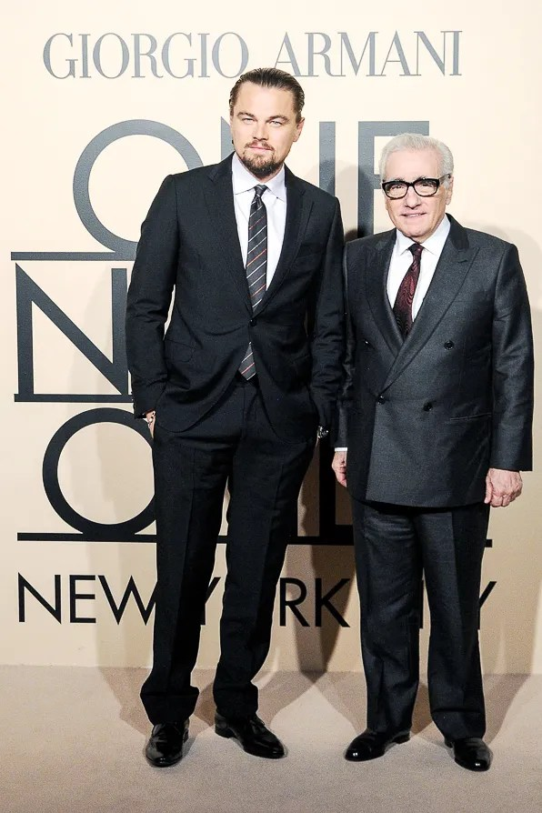 Leonardo DiCaprio at the Giorgio Armani One Night Only New York City event
