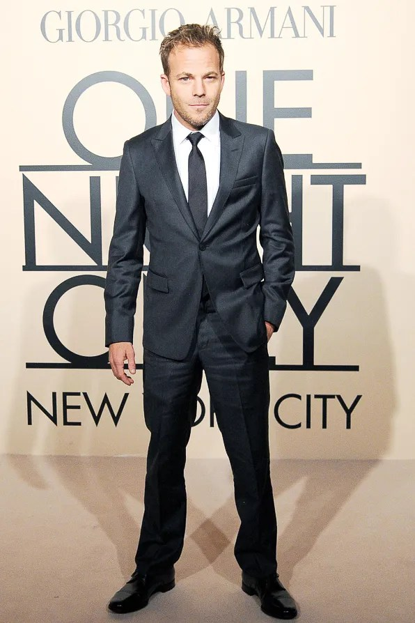 Stephen Dorff at Giorgio Armani One Night Only New York City event