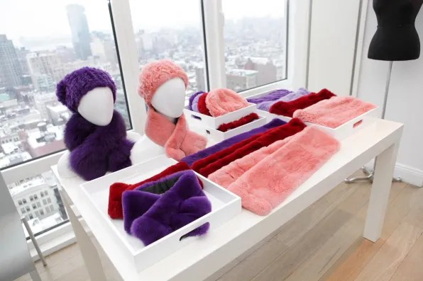 Pink furs collection
