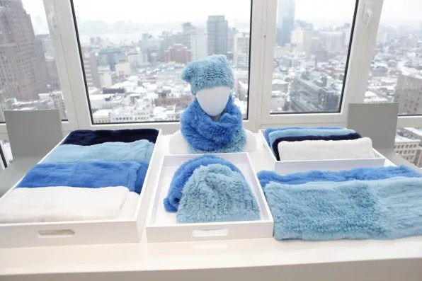 Blue furs