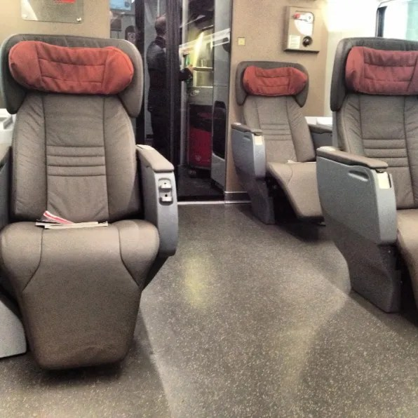 Frecciarossia from Firenze to Milano