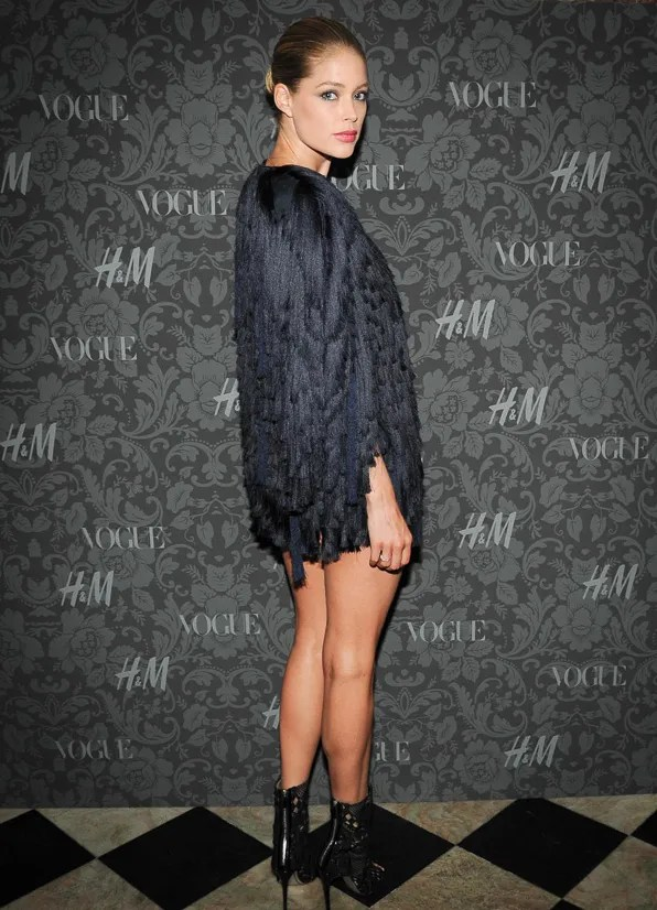 Doutzen Kroes at the H&M x Vogue Between the Shows party