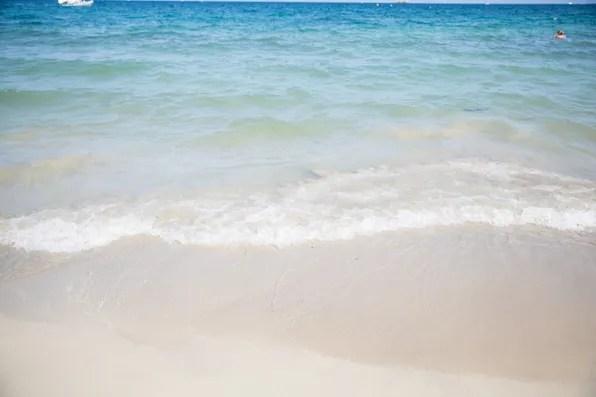 Playa d'en Bossa beach, Ibiza