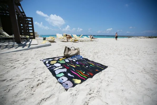 Christopher Kane beach towel