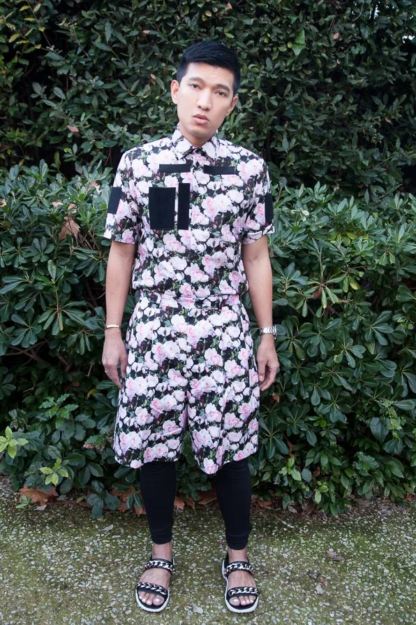 Bryanboy in Givenchy Resort 2014