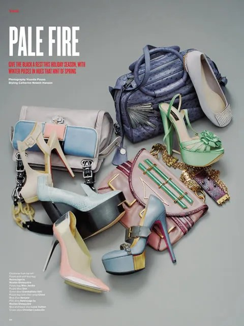 V Magazine, V 56 Pale Fire featuring Marc Jacobs BB Bag