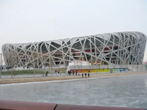 photo of Bird's Nest, Olympic Stadium Beijing China