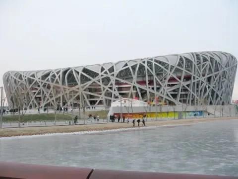 photo of Bird's Nest, Olympic Stadium Beijing China