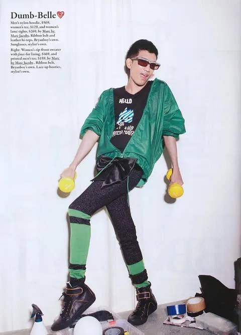 Bryanboy at Style Magazine Singapore December 2008