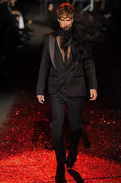 John Galliano menswear fall/winter 2009 2010