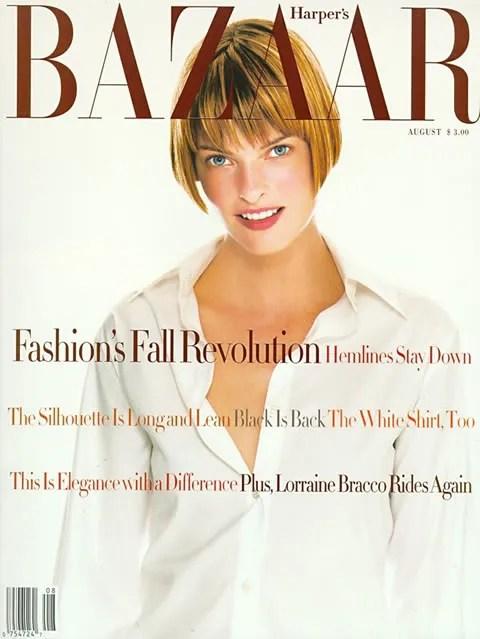 Linda Evangelista, Harper's Bazaar August 1993