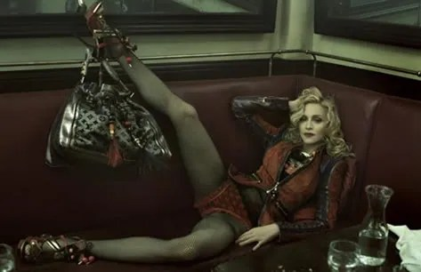 Madonna Louis Vuitton Spring Summer 2009 Ad Campaign photos
