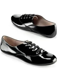 Marc by Marc Jacobs patent leather jazz flats