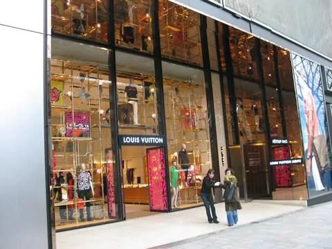 Louis Vuitton store at Omotesando Tokyo