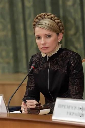 Yulia Tymoshenko, Ukrainian Prime Minister