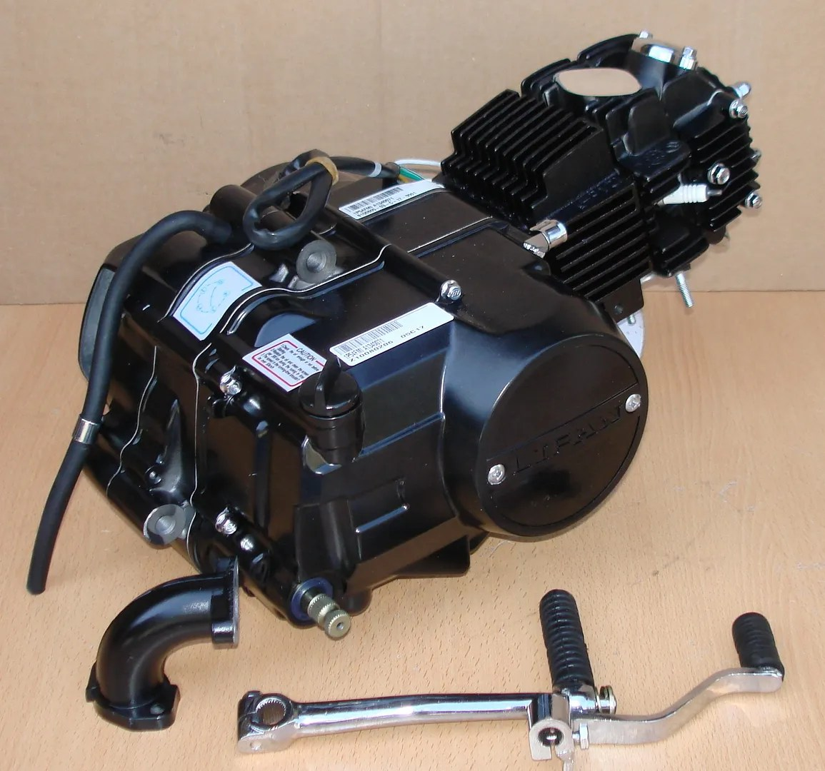 hight resolution of lifan 125cc 1p54fmi engine motor complete kit for honda xr50 crf50
