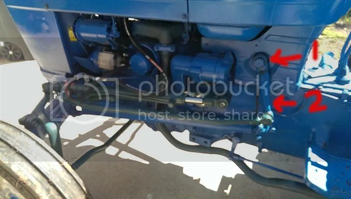Ford 3000 Tractor Power Steering Diagram On Ford 3600 Tractor