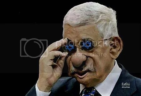 Image result for caricature of abbas collaborator