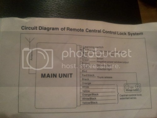 small resolution of fiat doblo central locking wiring diagram