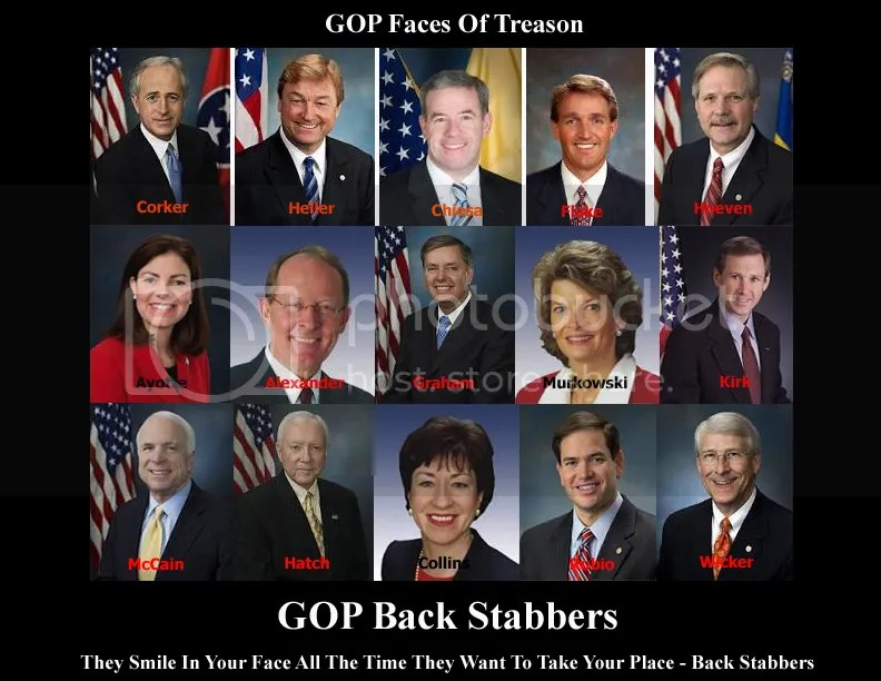 GOP Faces of Treason