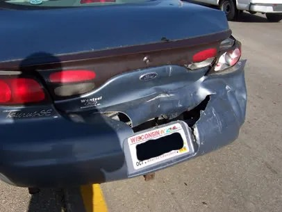Rear-Ended.