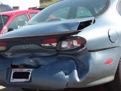 Rear Ended.