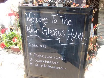 Welcome To The New Glarus Hotel!