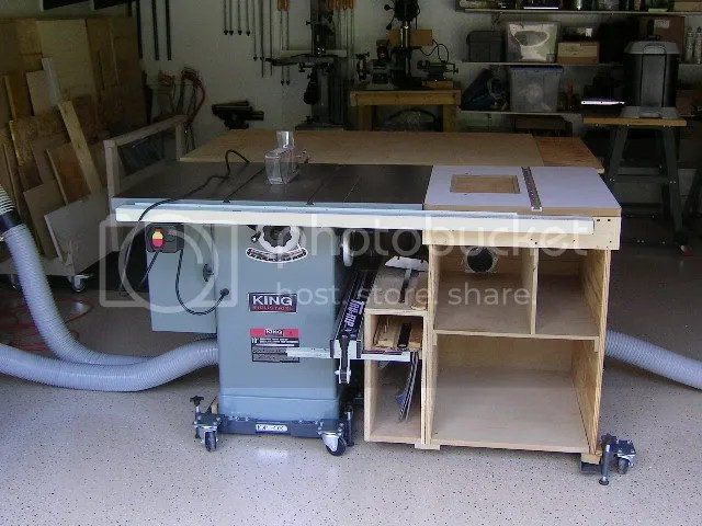 Mobile Saw Base