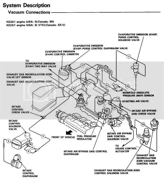 94 Honda Accord Ac Hose Diagram, 94, Free Engine Image For