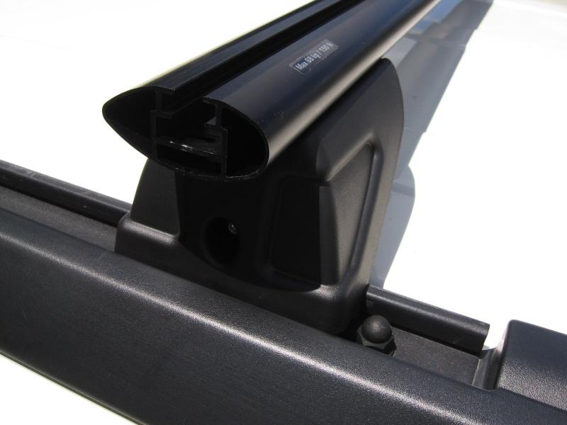 Roof rack interchangability